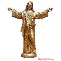 Buy cheap Casting Iron Jesus Sculpture from wholesalers
