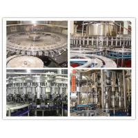 China Water filling line 4 In1 Automatic Volumetric Filling Machine For Plastic Bottles on sale