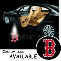 Buy cheap B (BOSTON RED SOX) Logo Car Cree Step Ground Courtesy Puddle Light #5144 from wholesalers