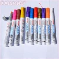 Buy cheap 12 pcs/box Waterproof Permanent Paint Marker Pen Oil Based Medium Point Fast-Dry Ink from wholesalers