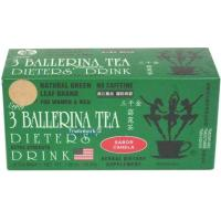 3 boxes of 3 Ballerina Tea Dieters' Drink (Extra Strength) (54 teabags supply) Manufactures