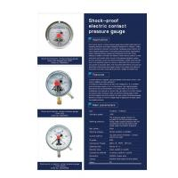 Wholesale Shock-proof electric contact pressure gauge from china suppliers