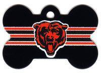 Buy cheap Chicago Bears Bone Shaped Dog ID Tag with Custom Engraving $9.99 from wholesalers