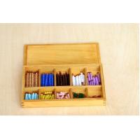 Buy cheap Montessori Materials Wooden Products Multiplication Bead Box, Plastic Beads from wholesalers