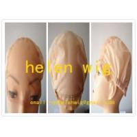 Buy cheap swiss glueless full lace wig making caps from wholesalers