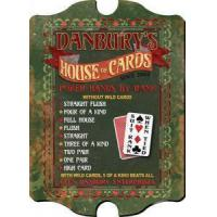 Buy cheap For Him Poker Cards Sign - Personalized from wholesalers