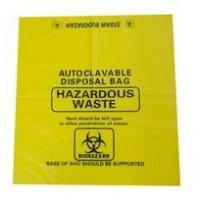 Buy cheap biohazard waste bags with biohazard logo from wholesalers