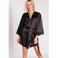 Buy cheap pajamas chinese style lady black satin custom made pajamas OEM service from wholesalers