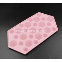 Buy cheap Fancy Diamond Shape Silicone Ice Candy Jelly Mold from wholesalers