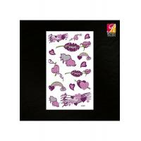 Glitter Temporary Tattoos AA007 Manufactures