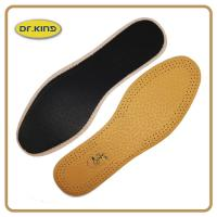 Wholesale High class pig or cow leather insole, genuine real leather footbed comfort cushion from china suppliers