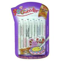 Buy cheap Edible ink Pens Edible Ink Writing Pens. 10x Colouring Markers. Professional series - FINE LINE from wholesalers
