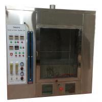 Buy cheap TN1938 Horizontal and Vertical Flammability Tester,Plastic Combustion Testing Chamber product