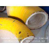 Buy cheap wear resistant pipe lined by ceramic from wholesalers