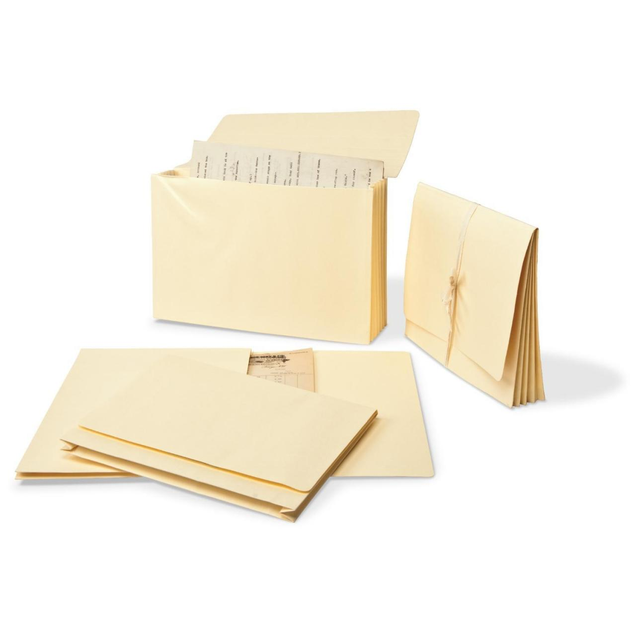 Buy cheap Gaylord Archival Expanding Legal Size File Folders with 1 1/2