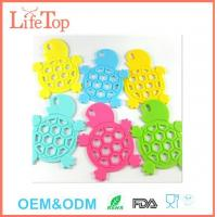 Wholesale Cute Silicone Tortoise Shape Pot Holder Mat Trivet Cups,Spoon Rest from china suppliers