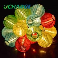 Buy cheap Round Lantern Patio String Lights from wholesalers
