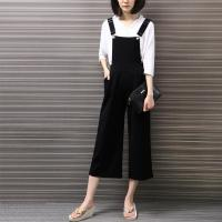 Buy cheap Black Overalls Trouser For Women High Waist Palazzo Pants Women from wholesalers