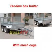 Buy cheap Tandem Box TrailerBST-2 tandem trailer from wholesalers