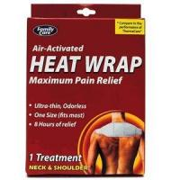 DDI 780707901342 Family Care Air Activated Heat Wrap - Pack 36 Manufactures