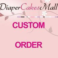 Buy cheap Custom Order Diaper Cakes Service Charge from wholesalers