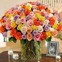 Buy cheap 100 Roses in a Vase NO.55 delivery flower to china product