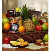 Buy cheap Fruit & Cheese Gift Basket NO.3 delivery basket to china from wholesalers