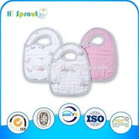 Wholesale Printed Muslin Baby Bib from china suppliers