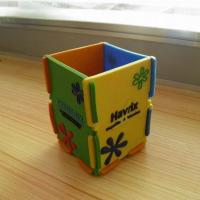 Buy cheap PE-001 PVC pen holder from wholesalers