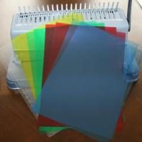 Buy cheap A4 PVC Binding Cover Hard Plastic Book Cover product