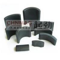 China Arc magnet Ferrite Arc Motor magnet Different Size on sale
