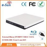 Buy cheap 100% Brand New Original USB 3.0 Blu ray External DVD Burner (White/Silver) for Netbook from wholesalers