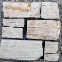 Buy cheap SMC-FS045 Decorative Natural Sandstone Wall Stone Cladding from wholesalers