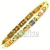 China Catseye Beaded Hugs & Kisses Magnetic Bracelet (Sold Out) 8 1/2 in (Standard) on sale