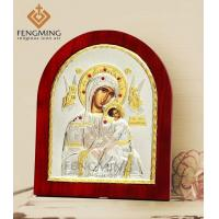 Buy cheap Virgin Mary with jesus child orthodox russian religious icons from wholesalers