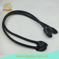 Buy cheap Leather Bag Handles With Sewing Holes For Bag 26 Inch A Pair Dark Purse Strap Purse Handle from wholesalers