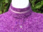 Wholesale Ready to Ship(70) #RS171RC2 Lavender with 3/8' ribbon collar from china suppliers