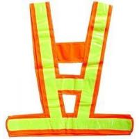 Reflective Safety Vest ( V Type -cotton ) HS-106 Manufactures
