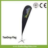 Buy cheap 16ft 4.7m Cheap Teardrop Banner Flags from wholesalers