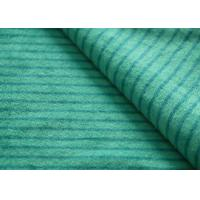 Wholesale Eco - Friendly Printted Striped Minky Fabric Flame Retardant Farland from china suppliers