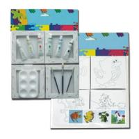 Buy cheap Aluminum easel Kids painting set Item NO.: AE10105 from wholesalers