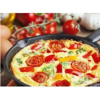 Cast iron fry pan with preseasoned oil Manufactures
