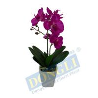 Fake House Plant Plastic Silk Orchid 10LVS 6F 1B 12FTS W/P Withstanding Strong Wind 12904 Manufactures