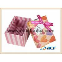Buy cheap CC-PBX376 Delicate heart shape pattern light pink gift box from wholesalers