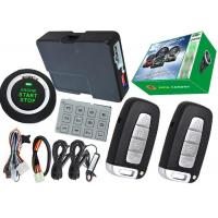 China Passcode Car Security Protection PKE Alarm System , Remote Vehicle Starter System Bypass Output on sale