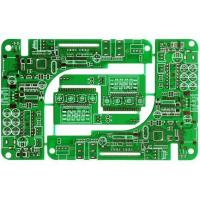 Buy cheap 3OZ, 2-Layer PCB, Immersion Silver, Green soldermask, White silkscreen ,1.6MM, from wholesalers
