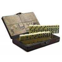 Buy cheap Collectible Ivory Color Domino Game With Chinese Storage Case from wholesalers