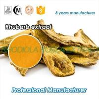 Buy cheap Pharmaceutical grade ISO certificated Chinese Herb medicine Rhubarb Root extract from wholesalers