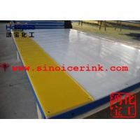 plastic hdpe dasher boards with steel structure Manufactures