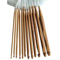 Buy cheap Carbonized Bamboo Carpet Crochet Hooks Crafts Yarn Tools from wholesalers